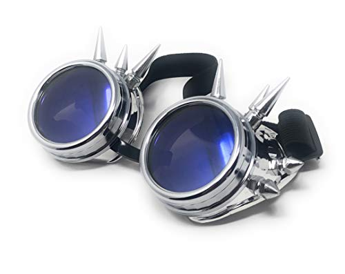 Premium quality punk goggles perfect for use with steampunk clothes and accessories or top hat Steampunk accessories from a trusted brand these steampunk glasses are adjustable in size Steam punk rave goggles and rave clothing which are great for use...