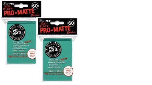 Ultra Pro Pro-Matte Small (120Count) Aqua Deck Protector Sleeves - YuGiOh