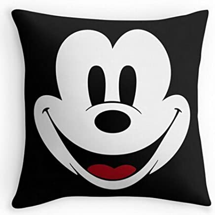 Alexander cute Mickey Mouse Cool Case Pillow Covers Two taglia Suitbale seta federa Cartoon cover, 45 x 45 cm