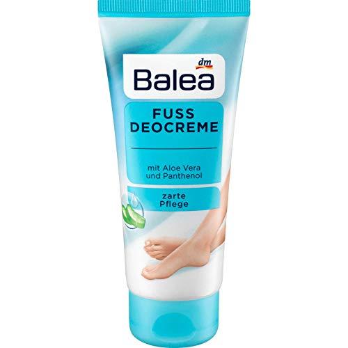 Balea Fuss Deocreme/mit Aloe Vera und Panthenol (1x 100 ml)
