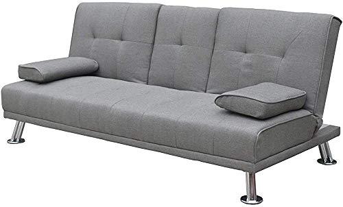 Divano di lusso in pelle design del letto artificiale divano 3 posti divano del soggiorno/camera di ricambio/letto panchina abitacolo,Grey