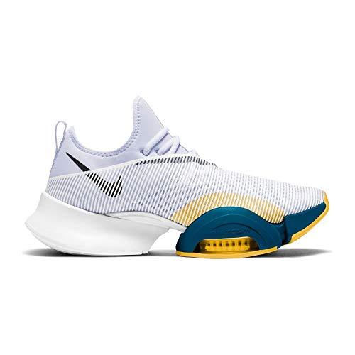 Nike Air Zoom Superrep HIIT Scarpa Uomini, Bianco, blu, giallo, 44 UE