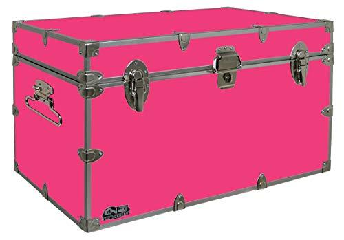Best pink footlocker trunk