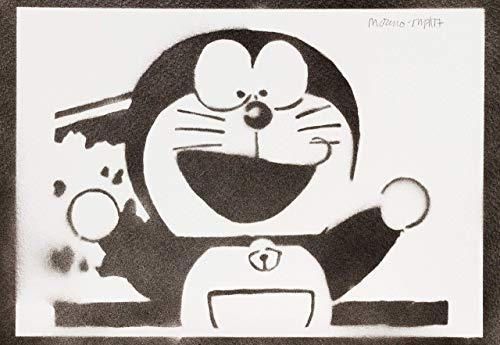 Doraemon Poster Plakat Handmade Graffiti Sreet Art - Artwork