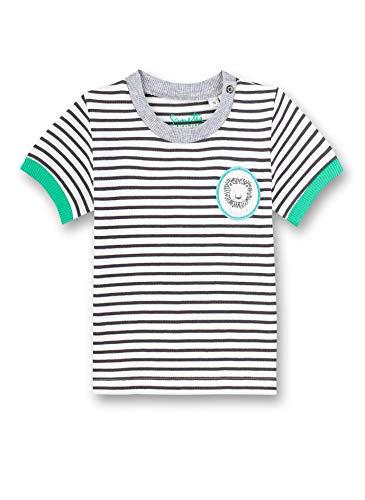 Sanetta Baby-Jungen T-Shirt, Beige (Beige 1829), 68 (Herstellergröße: 068)