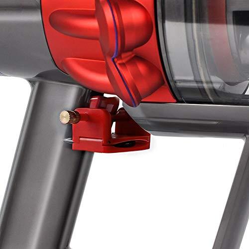 KEEPOW Griffhalterung Schalter Fixierung für Dyson V11 V10 V7 V8 V6 kabelloser Handstaubsauger, Halterung Startknopf Fixierung Zubehör Nicht für V11 Outsize(Feste Taste beim Saugen)