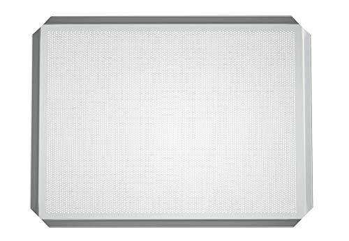 LEHRMANN Plaque aluminium perforée 45,5 x 37,5 cm Plaque pâtissière de cuisson Plaque four Siemens Bosch Neff