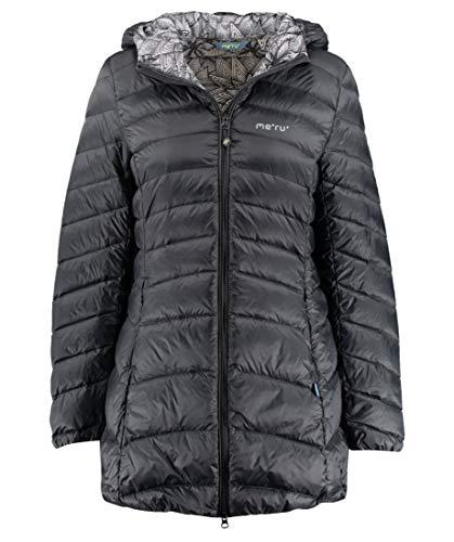 Meru Damen Daunenjacke Eskimo schwarz (200) M