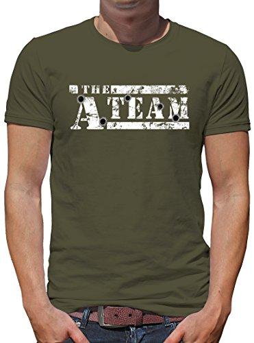 TShirt-People The A-Team Logo Bullit T-Shirt Herren L Khaki