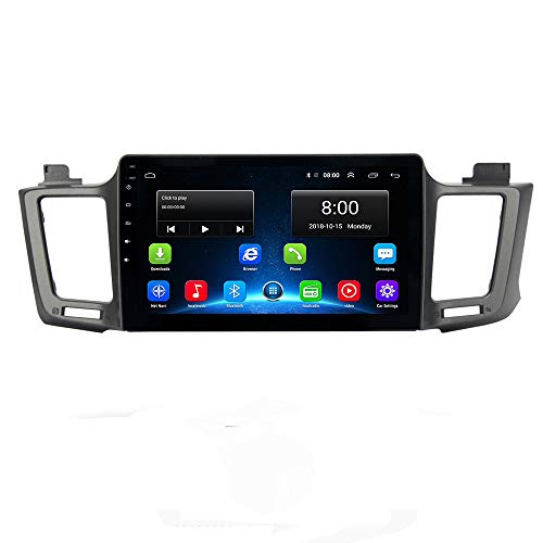 RAV4 2014-2017 Car Radio GPS Navi Android 9.1 IPS for Toyota RAV4 2014-2017 In Dash Multimedia Video Head Unit with Bluetooth WiFi 4G BT USB Stereo Touch Navigation (RAV4 Android 9.1 2+32G)