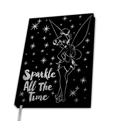 ABYstyle - Disney - Peter Pan - A5 Premium Notebook - Tinkerbell