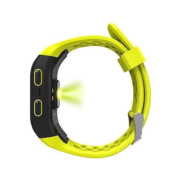Rungao Pulsera Smart inteligente con sensor de ritmo cardíaco, GPS, monitor de sueño, podómetro, resistente al agua… 5