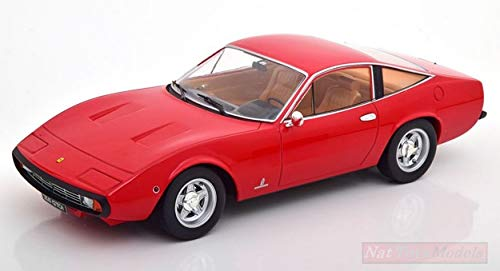 KK Scale KKDC180285 Ferrari 365 GTC 4 1971 RED 1:18 MODELLINO DIE CAST Model kompatibel mit