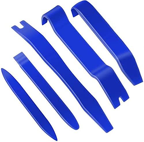 Trim Removal Tool - 5 Pcs Trim Removal Tool Set, Plastic Panel Fastener...