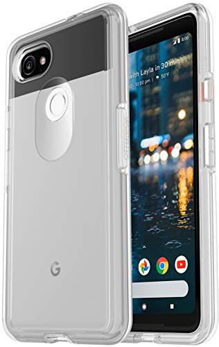 OtterBox Symmetry Series Hard Case for Google Pixel 2 XL Smartphone - Clear