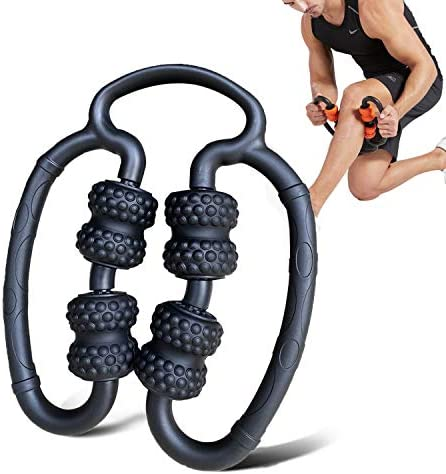 Muscle Roller Leg Rollers Stick Sports Handheld Foam Roller Massager Small Travel Rollers for product image