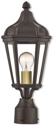 Outdoor Post 1 Light with Bronze Medium Aluminum Cast 18 Finish Ranking TOP3 A surprise price is realized