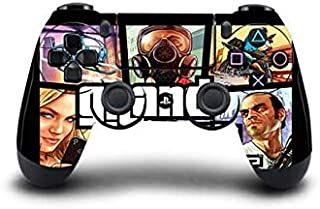 Homie Store 1pc Grand Theft Auto V GTA 5 PS4 Skin Sticker Decal for Sony PS4 Playstation 4 Dualshouck 4 Game PS4 Controller Sticker - A2 QBTM0008