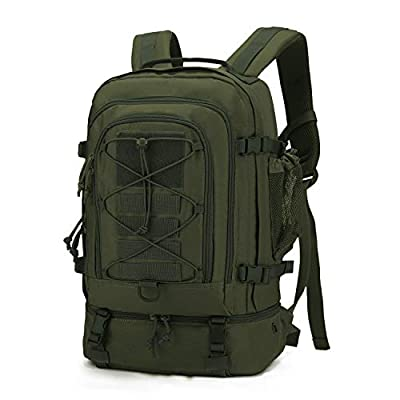 Mardingtop 28L Tactical Backpacks Molle Hiking daypacks for Motorcycle Camping Hiking Military Traveling 28L-Army Green