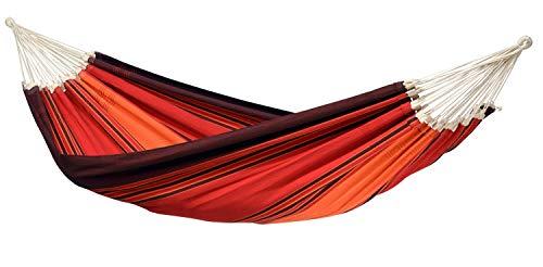 Amazonas AZ-1019300 Paradiso terracotta Hängematte, Belastbarkeit 200kg, Liegefläsche 250 x 175cm