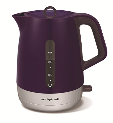 Morphy Richards 101208 Bouilloire Chroma Prune et Inox