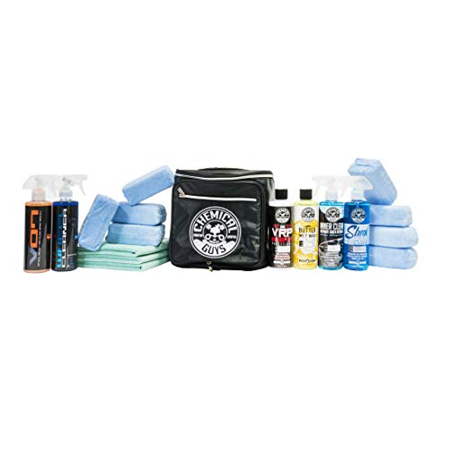 Chemical Guys Car Lovers Car Care Detail & Shine Kit (18 Pieces)