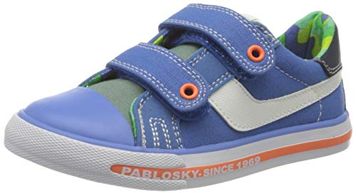 Pablosky, Zapatillas-Niño Niños, Azul, 27