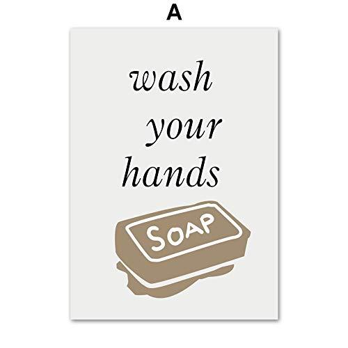 Geen frame fee tuinen magische ng boek encaustic,Handdoek zeep kam tandenborstel doek badkamer olie ng, drukkerij, school behang