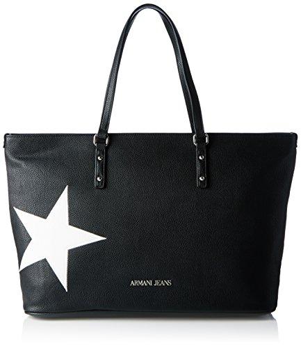 Armani Jeans 9222327P760 Damen Shopper 19x34x36 cm (B x H x T), Schwarz (NERO 00020)