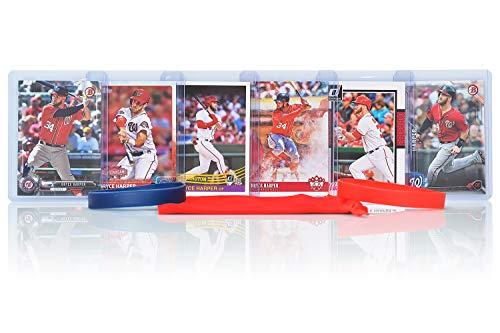 Bryce Harper (6) Assorted Baseball Cards Bundle - Washington Nationals Trading Cards