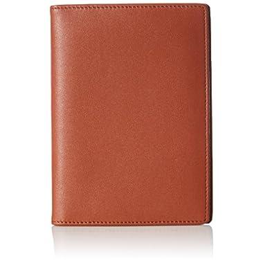 AmazonBasics Leather Rfid Blocking Passport Wallet, Brown