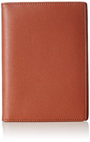 AmazonBasics - RFID-blokkerende paspoort-etui, leer, bruin (bruin) - ZH1511231R4J