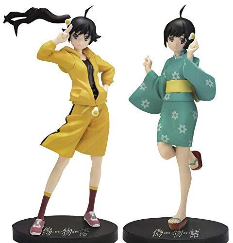 NISEMONOGATARI Nisio Isin High Grade PVC Figure Anime Prize Sega 2 FIGURES SET