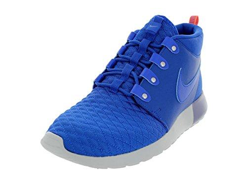 Nike Roshe Run 615601 - Zapatillas de deporte para hombre, color negro, color Azul, talla 45.5 EU