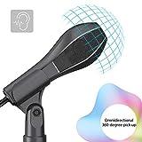 Immagine 1 ammoon usb microfono a condensatore