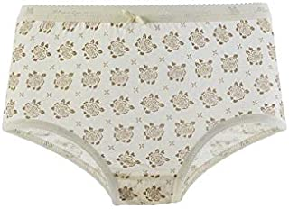 Mariposa Women's Cotton Outer Elastic Printed Panty