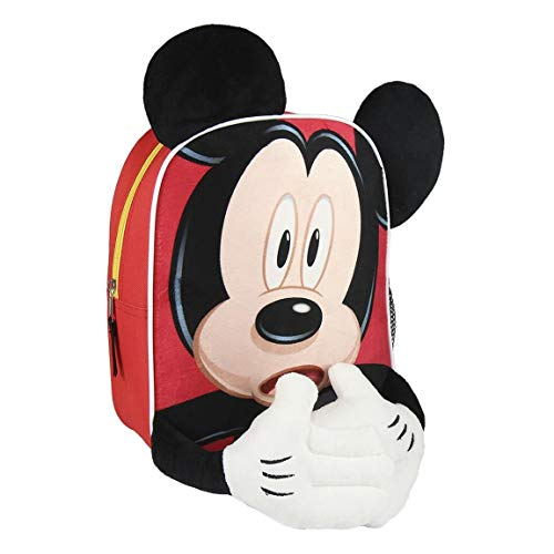 Cerdá – Mickey Mouse Children's Backpack, multicoloured (Multicolour) - CD-21-2202
