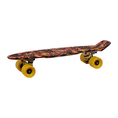 RollingBull Hawai Cruiser Skateboard 22 Zoll Plastikboard