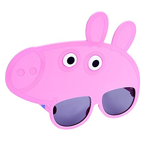 Costume Sunglasses Peppa Pig Sun-Staches Party Favors UV400