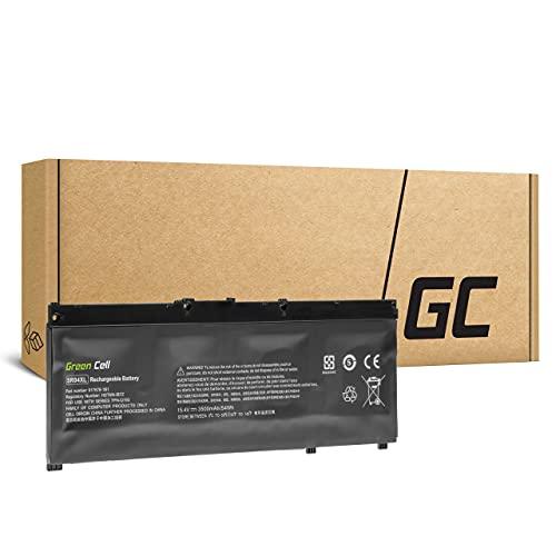Green Cell Batería para HP Omen 15-DC0016NW 15-DC0016UA 15-DC0017NF 15-DC0017NS 15-DC0017NW 15-DC0017UA 15-DC0018NF 15-DC0018NS 15-DC0019NF 15-DC0019NS Portátil (3500mAh 15.4V Negro)