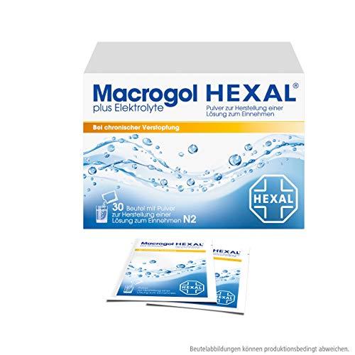 Macrogol HEXAL plus Elektrolyte, 30 St. Beutel