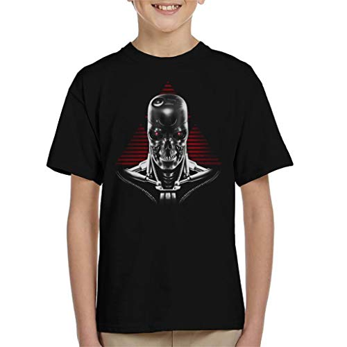 Child's Terminator 2 Judgment Day T-800 T-shirt, Ages 3 to 13 years