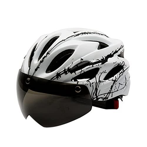 XWHSCXYBZ Bicicletta a Righe Air Bicycle Cycling Equipment da Ciclismo Magicochromatic Belt Biografia montuosa Formazione Integrale Outdoor(Bianco Nero,l)