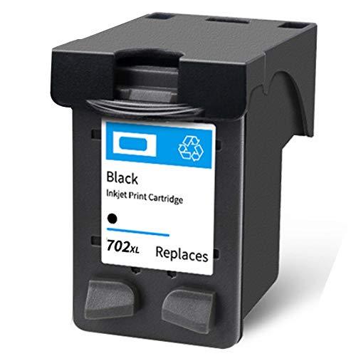 Cartucho de tinta 22XL 702XL, repuesto de alto rendimiento para impresora HP Deskjet 3910 D1311 F2120 Officejet J3508 J3606 J3608 J5508 tinta negra y tricolor 1 negro
