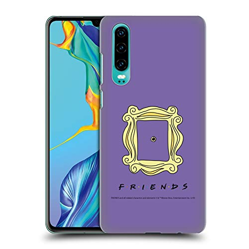 Official Friends TV Show Peephole Frame Iconic Hard Back Case Compatible for Huawei P30