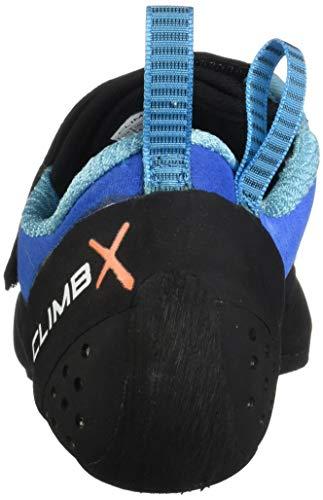 Climb X Rave Sangle d'escalade à Chaussures 2018, Bleu (Bleu), 42 EU