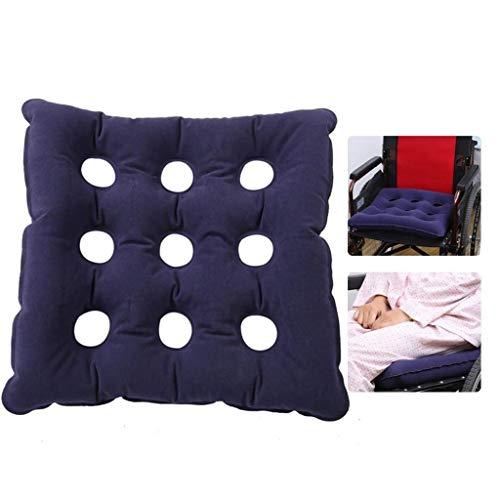 Auto stoel stoel stoel wiel stoel kussen 3D lucht draagbare anti-doorligwonden orthopedische pijn druk verlichting comfort kussen camping stoel mat met pomp 480