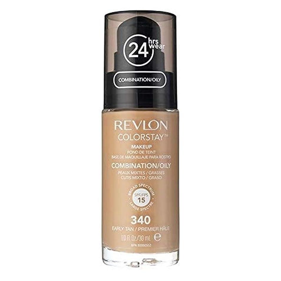 デコラティブ作りショート[Revlon ] レブロンカラーステイ基盤コンビ/油性Earlytan 30ミリリットル - Revlon Color Stay Foundation Combi/Oily Earlytan 30ml [並行輸入品]