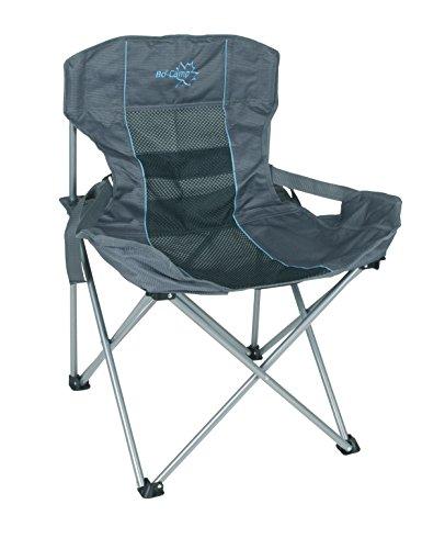 Bo-Camp Deluxe Compact klapstoel, antraciet