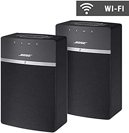 Bose soundtouch 10 WiFi Altavoces 2-Pack – Negro